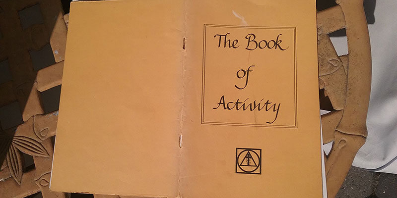 Holy Order of MANS Book of Activity